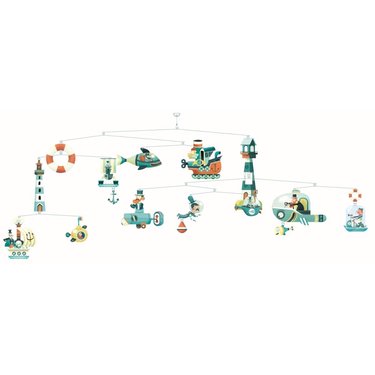 mobile schiffe mobile baby 39 s gl ck kind baby spielzeug geschenke f r jung alt. Black Bedroom Furniture Sets. Home Design Ideas