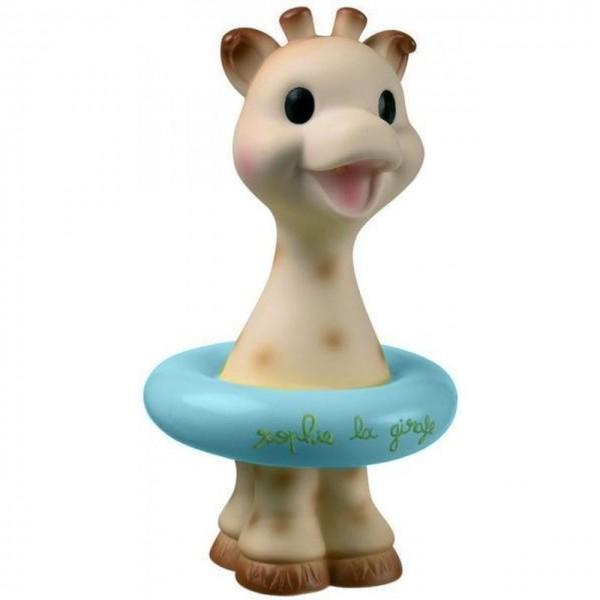 Badespielzeug Sophie la girafe blau