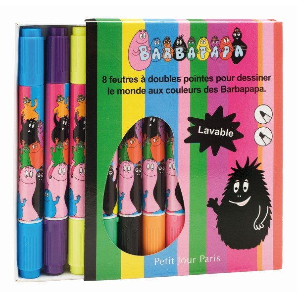 8 Filzstifte Barbapapa