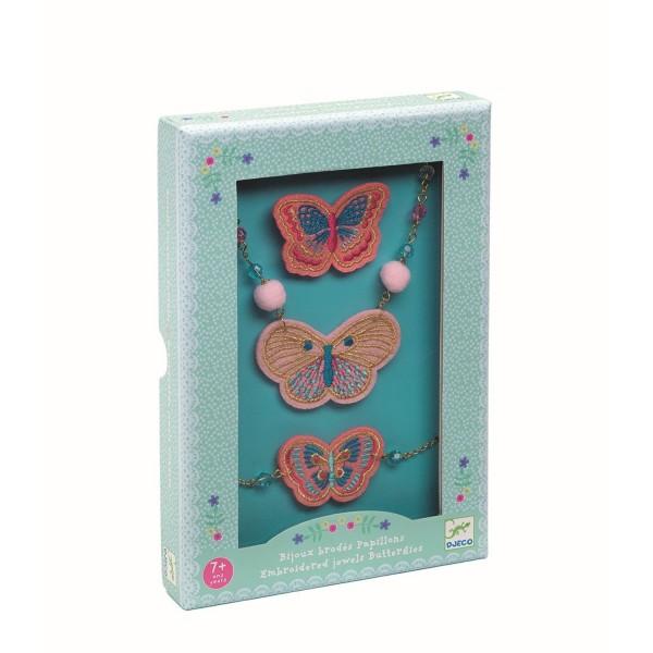 88049efefbc64 Schmuckset Schmetterlinge