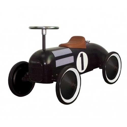 Rutscherfahrzeug Oldtimer schwarz