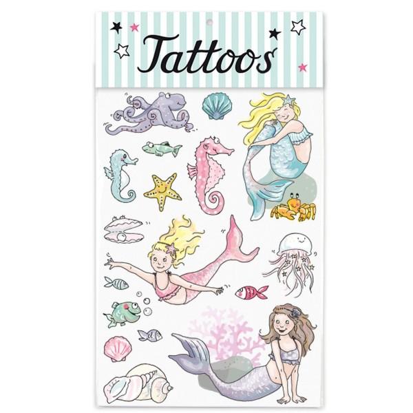 KRIMA Tattoo Meerjungfrau