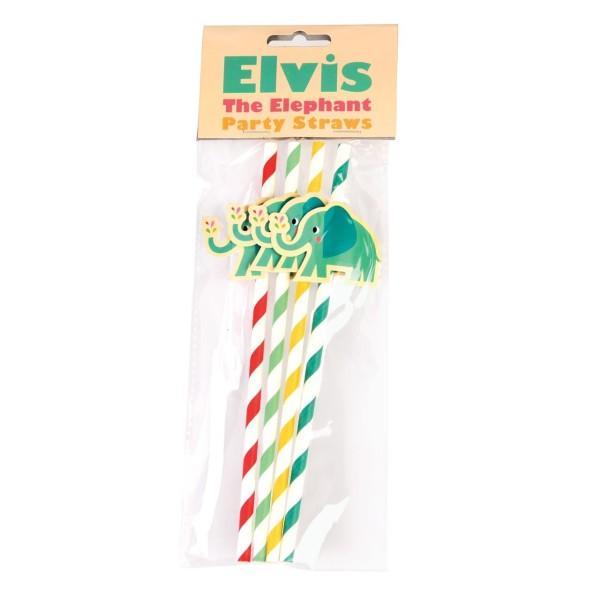 Strohalme Elefant Elvis