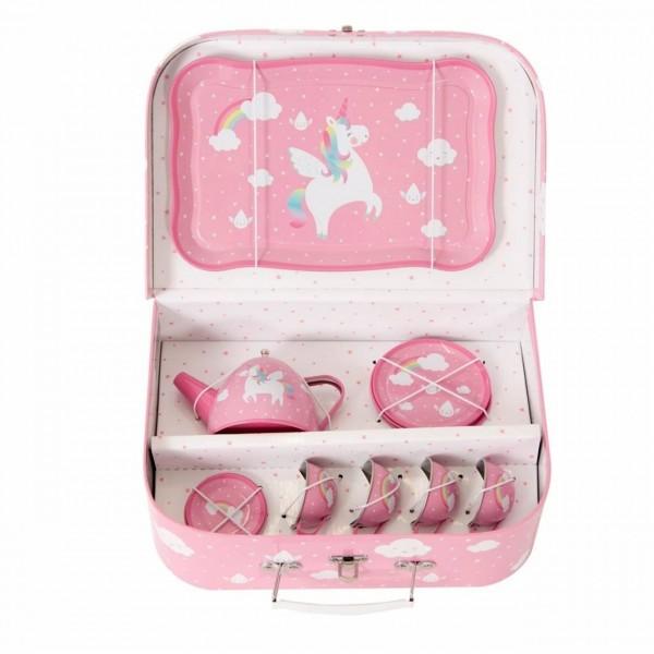 Picknick-Box-Set Rainbow Unicorn