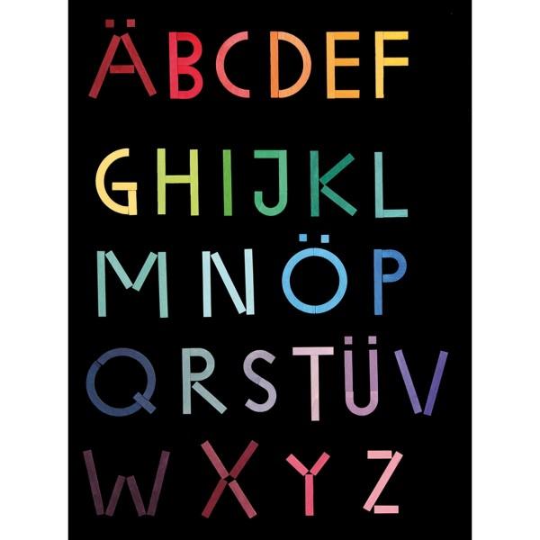 Magnetisches Alphabet