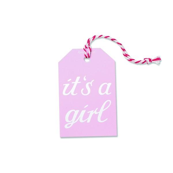 Geschenkanhänger Girl
