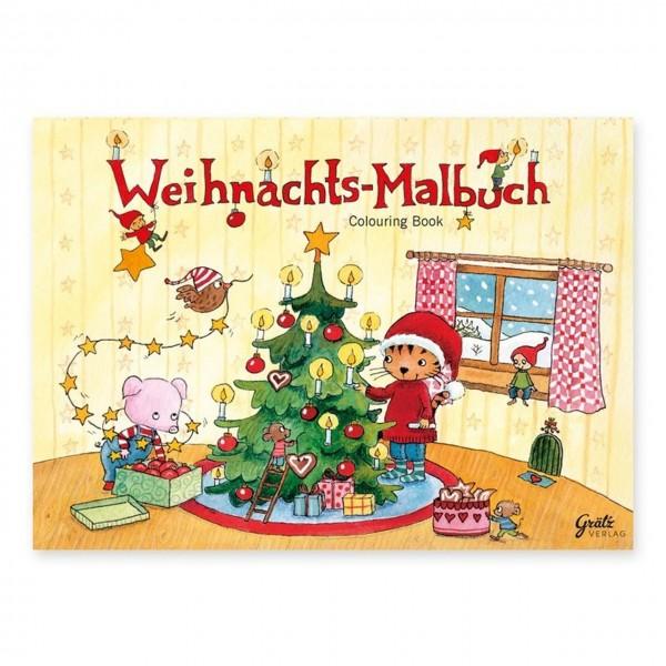 Mini Malbuch Weihnachten A7