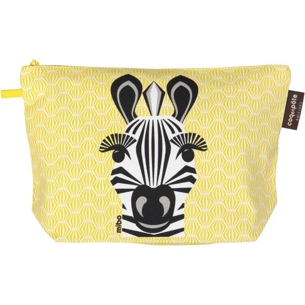 "Kulturtasche groß Zebra ""Mibo"""