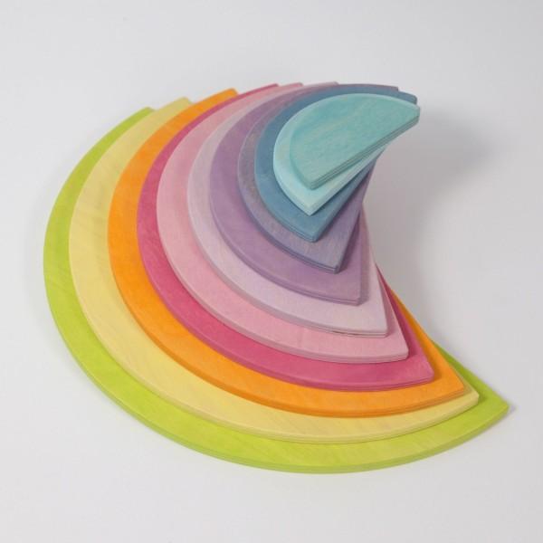 Große Halbkreise Pastell