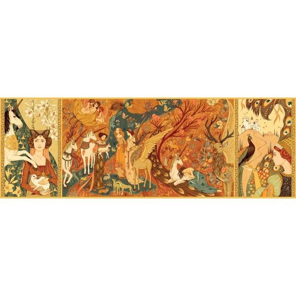 Puzzle Gallery Unicorn Garden - 500 Teile