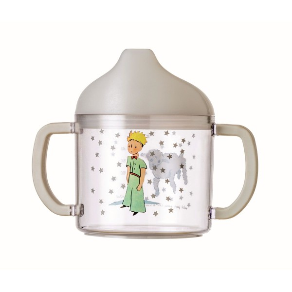 Trinklernbecher grau Der kleine Prinz