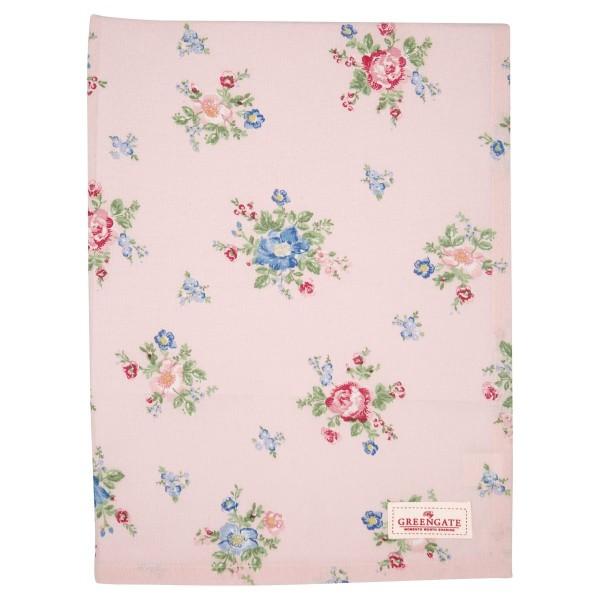 Tischdecke Roberta pale pink 130x170cm