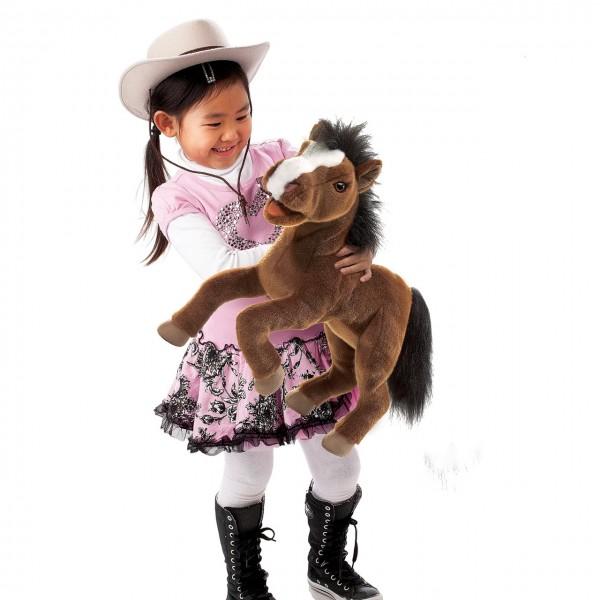 Folkmanis Handpuppe Pferd