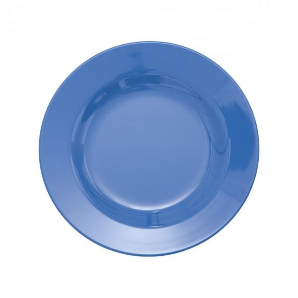 Melamin Teller - New Dusty Blue klein
