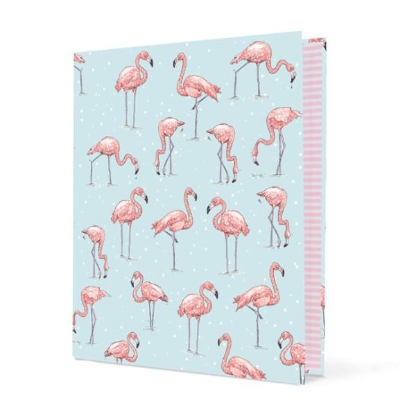 Ringordner Flamingo