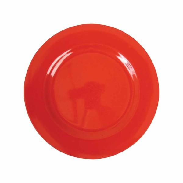 Melamin Teller -Rot klein