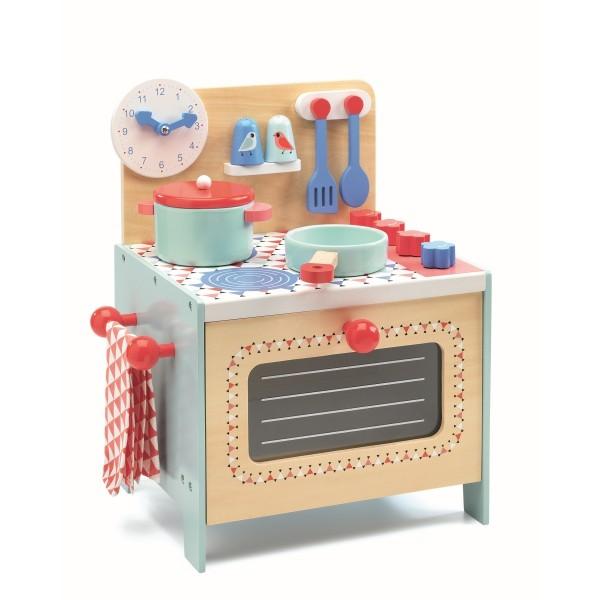 Rollenspiel Kinderküche: Herd blau