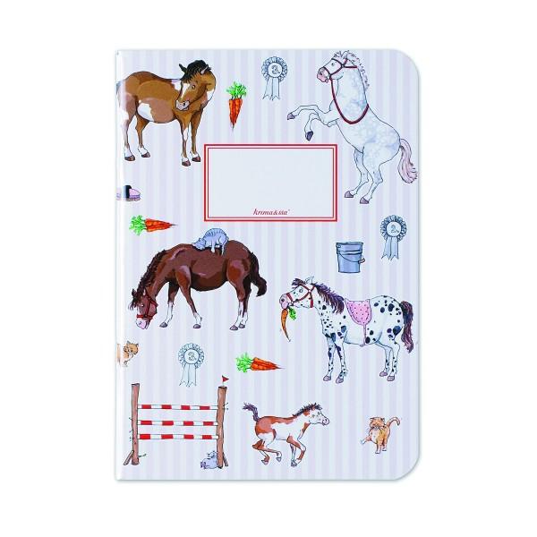 KRIMA Notizheft Pony DIN A5