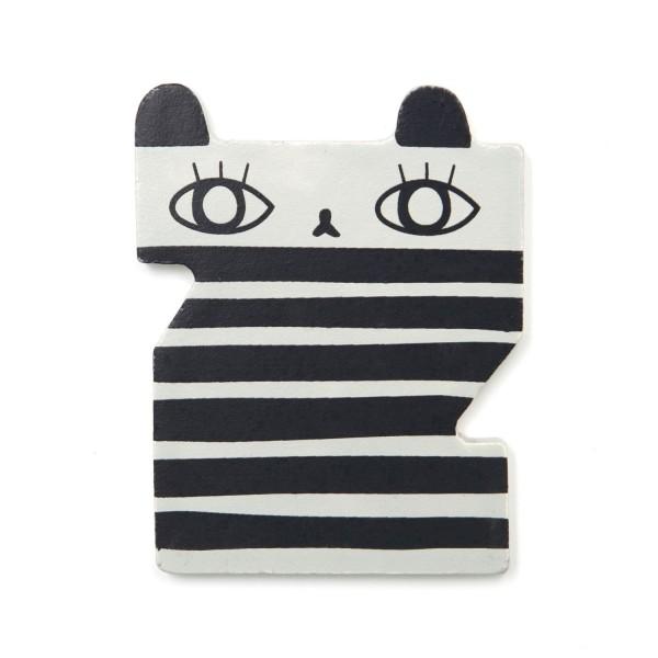Holz Buchstabe Z - Zebra
