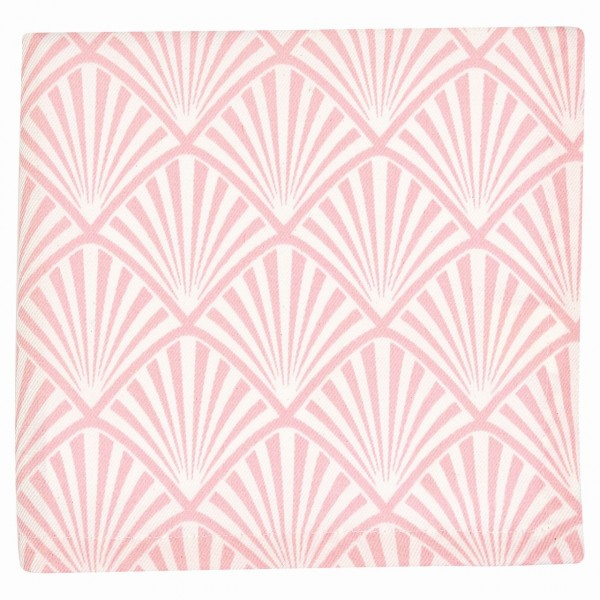Serviette Celine pale pink