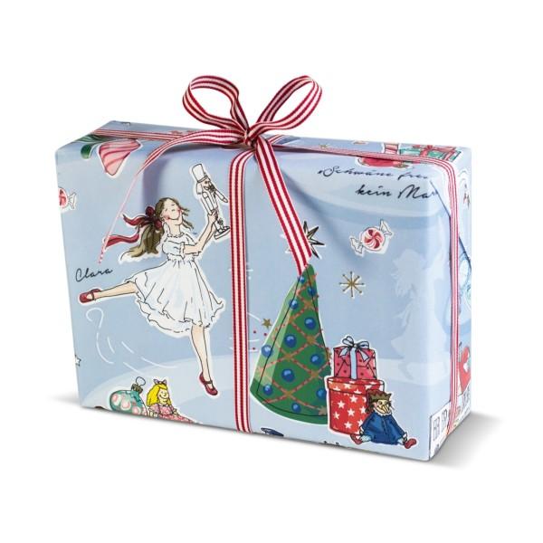 Geschenkpapier Nußknacker