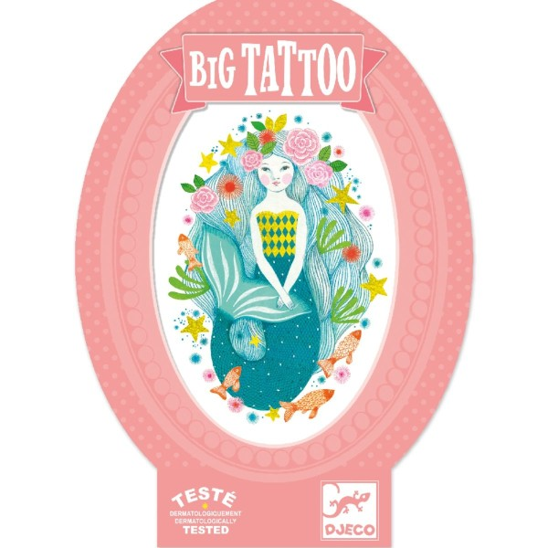 Big Tattoo: Aquablau