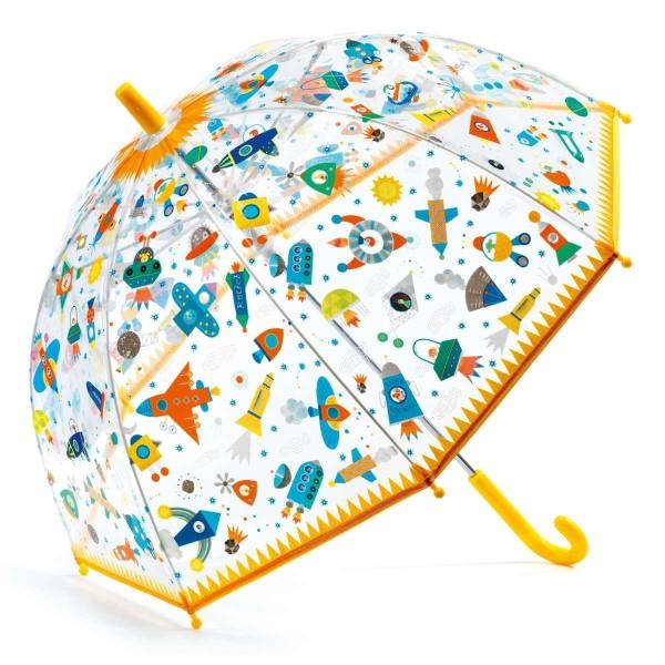DJECO Regenschirm Weltall