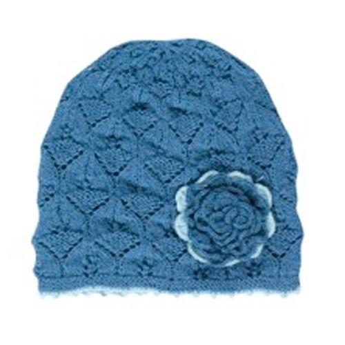 Mütze Livia, bergseeblau