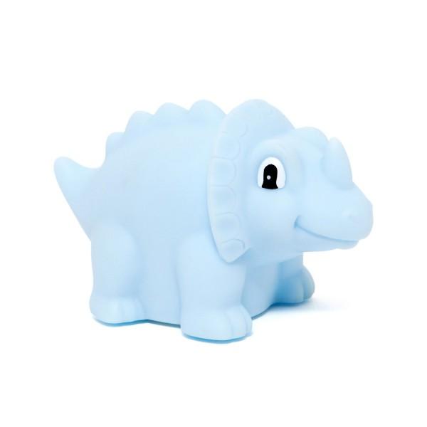 Nachtlicht EINO Triceratops blau
