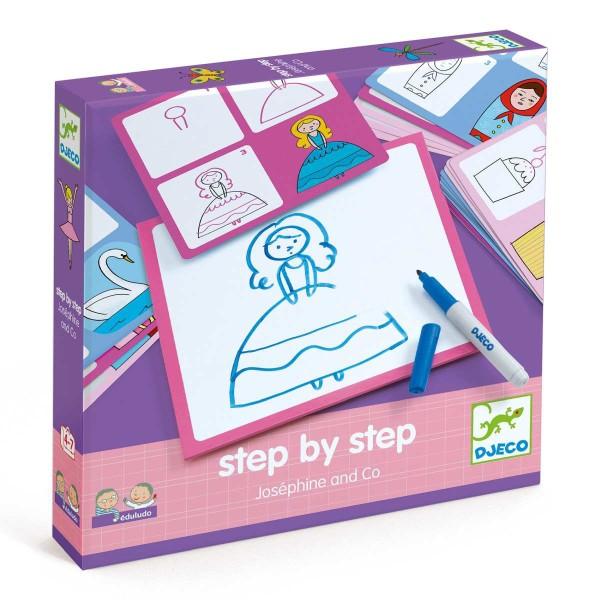 """Lernspiel: """"step by step"""" Josephine"""