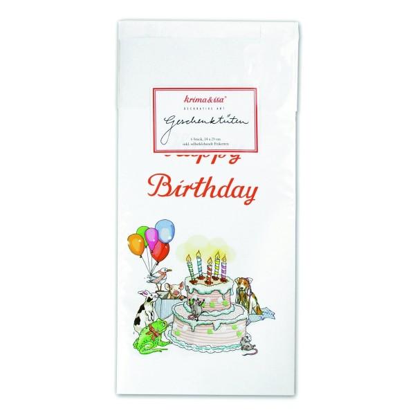 Geschenktüte Happy Birthday