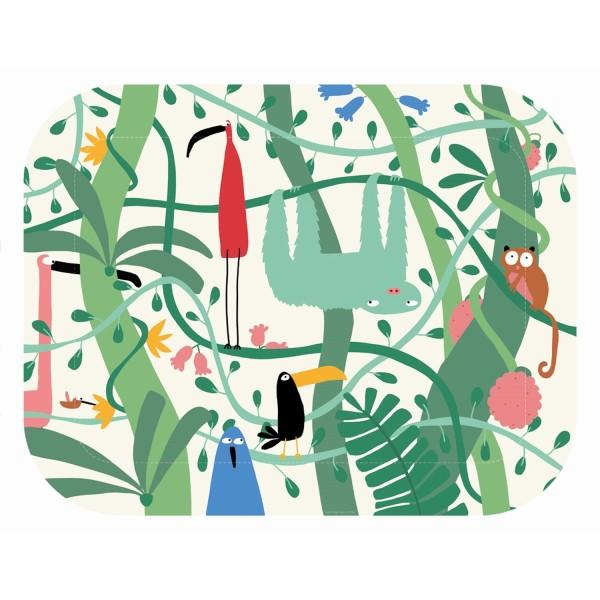 Tablett Dschungel
