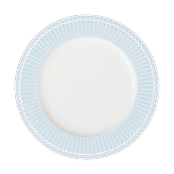 GREENGATE Dinnerteller Alice pale blue