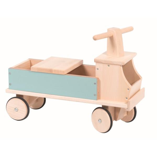 Lastwagen, blau les jouets d`hier