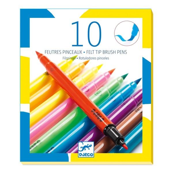 Farben: 10 Filzstifte - Pop colours