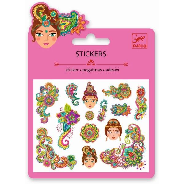 Mini Sticker: Indien