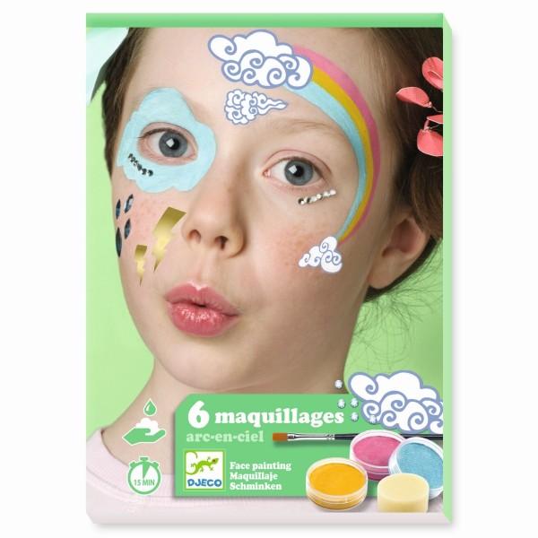 Kinderschminke Set Regenbogen