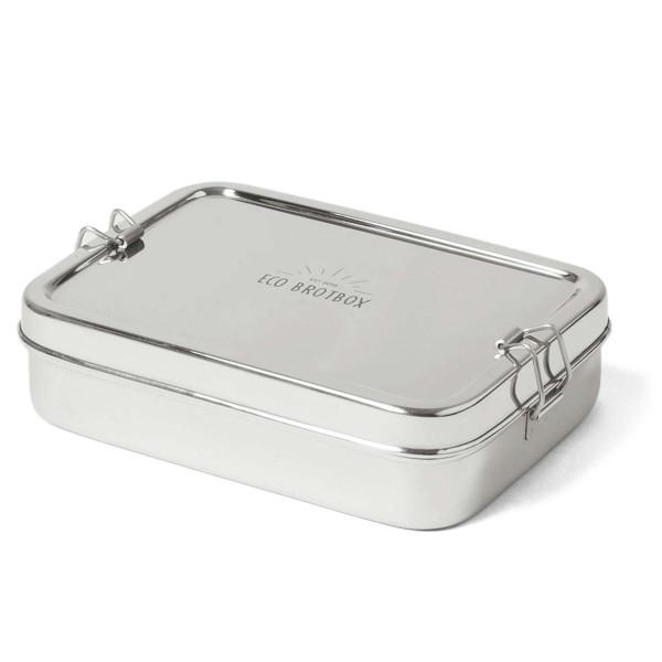 Edelstahl Brotbox XL