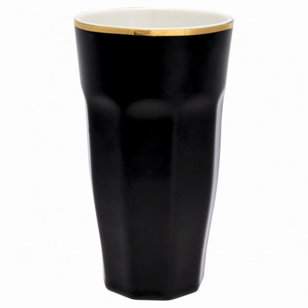French Latte Cup black