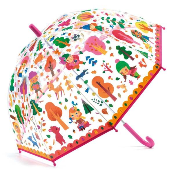 Regenschirm Wald