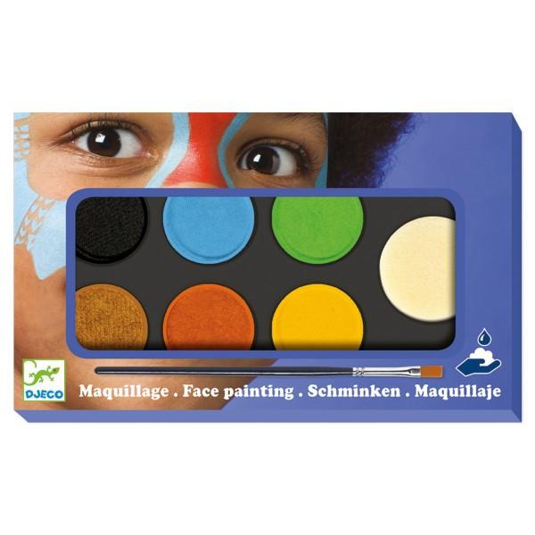 Kinderschminken mit 6 Farben