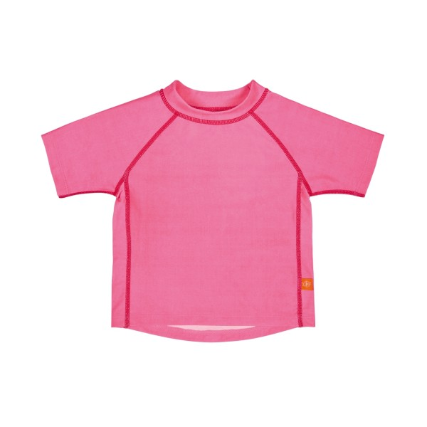 Short Sleeve Rashguard girls, 12 Monate, light pink