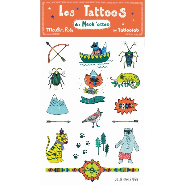 Abenteuer Natur Tattoos