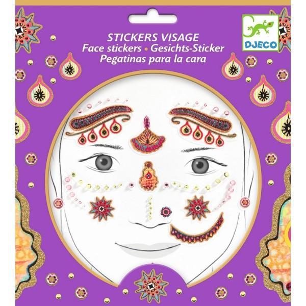 Gesichtssticker: Princess India