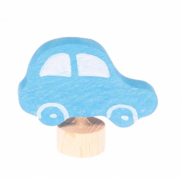 Stecker Auto blau