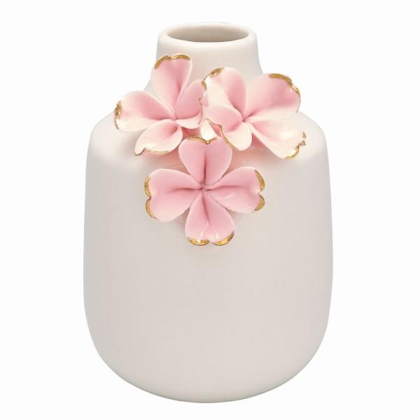Vase flower pale pink