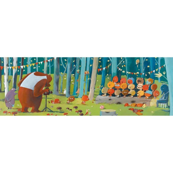 Puzzle Gallery Forest Friends - 100 Teile