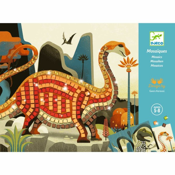 Mosaik: Dinosaurier