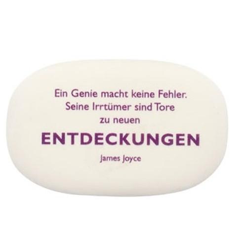 """Radiergummi Joyce """"Entdeckungen"""""""