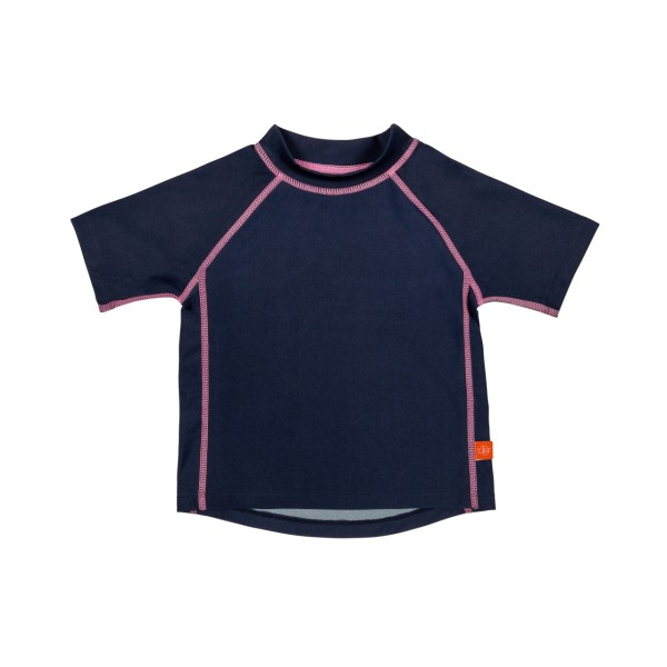 Kurzarm Bade T-Shirt girls, 24 Monate, navy